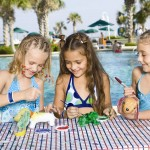 kids-painting-poolside