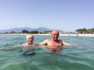 дідо на морі